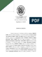 SENTENCIA Sala Constitucional TSJ 11f