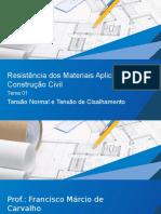 AUTOR  VA_Resistencia_dos_Materiais_Aplicada_a_Construcao_Civil_Tema_01.pptx