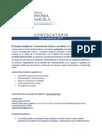 Convocatoria Libro Colectivo CAEC 2017 UAdeC FCC