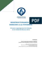 2016 - 02 - Febrero - 12 - Reestructurando El Derecho a La Vivienda - El Nuevo Organigrama de La Ciudad de Bs As