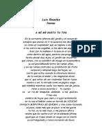 Luis Rosales - Poemas