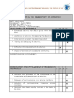 Romania Evaluation Report
