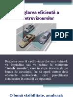 Reglarea retrovizoarelor