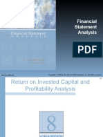Chapter 08, financial statment analysis
