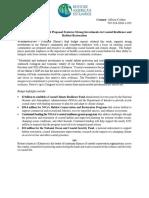 Restore America's Estuaries Statement on President's FY17 Budget
