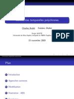 Contraintes temporelles polychrones