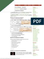 Gramáticas Complemento de Régimen - Ejemplos
