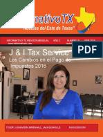 Informativo TX Febrero 2016
