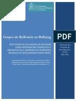 Proyecto GR en Hostigamiento Entre Pares 2015