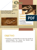 La Paleontología General