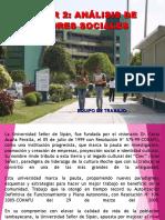 TRABAJO DOCTORADO ANALISIS DE ACTORES SOCIALES.ppt