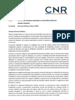 Raportul Consiliului National al Rectorilor referitor la lucrarile din penitenciare