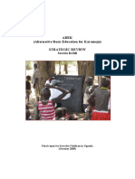 ABEK (Alternative Basic Education for Karamoja) Strategic Review 2009