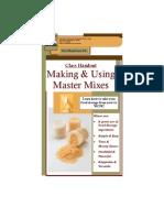 Master Mixes Booklet - 1pg