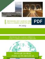 Programa de Calidad Ambiental Para La Edificación Querétaro _ PCAEQ