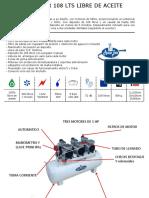 Manual Compresor 108 Libre de Aceite