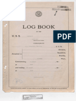 U.S.S. Monterey (CVL-26) Logbook - August, 1944