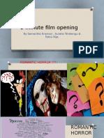 2 minute film opening