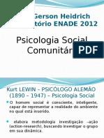 SLIDES PSICOLOGIA SOCIAL COMUNITÁRIA ENADE 2012.ppsx