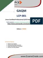 LCP-001 Guaranteed PDF Study Material