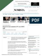 10 - 02 - 2016 Precio de Casas Aumenta 6