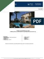 Prestigious 'Belle Epoque' Villa Close to the Garoupe Beaches of Cap D'Antibes