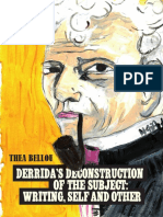 Bellou, Thea_ Derrida, Jacques-Derrida's Deconstruction of the Subject _ Writing, Self and Other-Peter Lang AG, Internationaler Verlag Der Wissenschaften (2013)