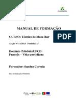Manual de Formação Francês 2