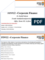 FIN222 Autumn2015 Lectures Lecture 1