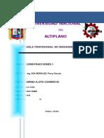 Norma Tecnica a.070 Quispe Vargas Omar