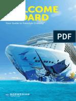Norwegian Cruise Line Welcome Aboard Brochure