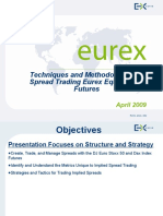 Eurex Equity Spreading Tactics