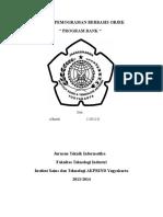 Tugas Pemograman Berbasis Objek(Uas)
