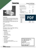Kaowool Paper 1260