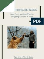 Budget Training 8 26 15