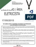 prova do concurso para engenheiro eletricista da UFG 2015