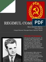 Regimul comunist