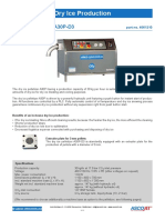Dry Ice Pelletizer A30P D3