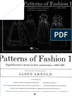 Arnold Janet Patterns of Fashion 1660 1860