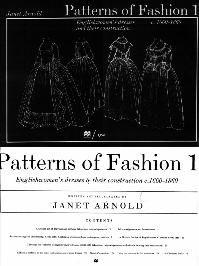 Janet arnold patterns of fashion pdf 35