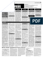 Claremont COURIER Classifieds 2-12-16