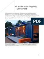 10 Houses Made From Shipping Containers