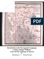 Introduction to the Narragansett Language