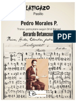 LATIGAZO. Pasillo. Pedro Morales P. Transc. según Oriol Rangel por Gerardo Betancourt.