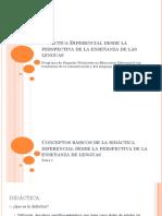 02 - Didáctica Diferencial - Conceptos Fundamentales - Sesión 1
