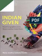 Indian Given by María Josefina Saldaña-Portillo