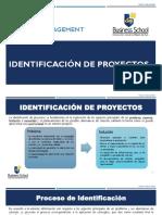2. Lectura Identificación de Proyectos