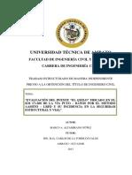 """""""Evaluación Puente """" Por El Métodoaashto – Lrfd"""""""