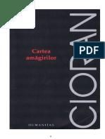 92289706 Emil Cioran Cartea Amagirilor Doc