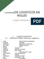 Terminos Logisticos en Ingles